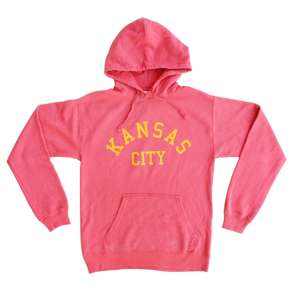1KC Kansas City Hoodie - Heather Red
