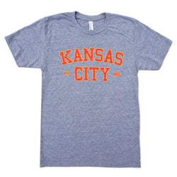 1Kansas City Tee - Grey
