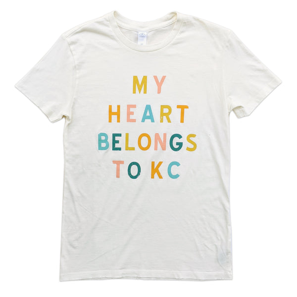 1KC My Heart Belongs to Kansas City Tee