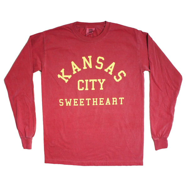 1KC Kansas City Sweetheart Longsleeve Tee