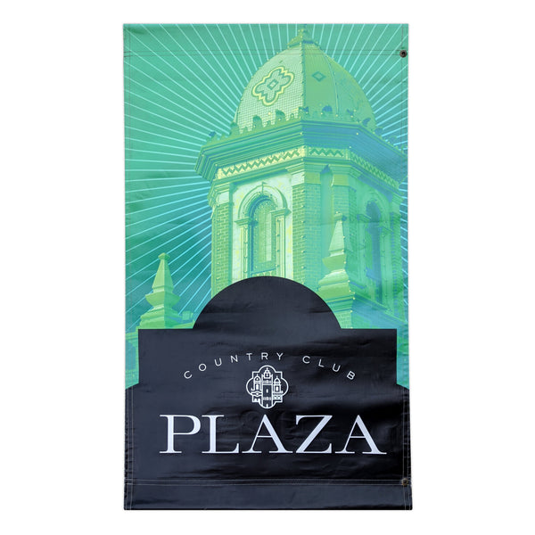 2016 Plaza Banner - Giralda Tower - Green