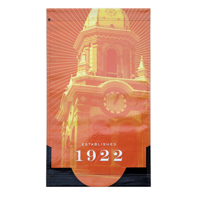 2016 Plaza Banner - Giralda Tower - Orange