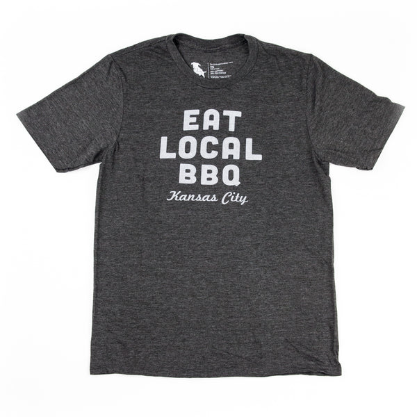 Farmdog Studios Eat Local BBQ Tee
