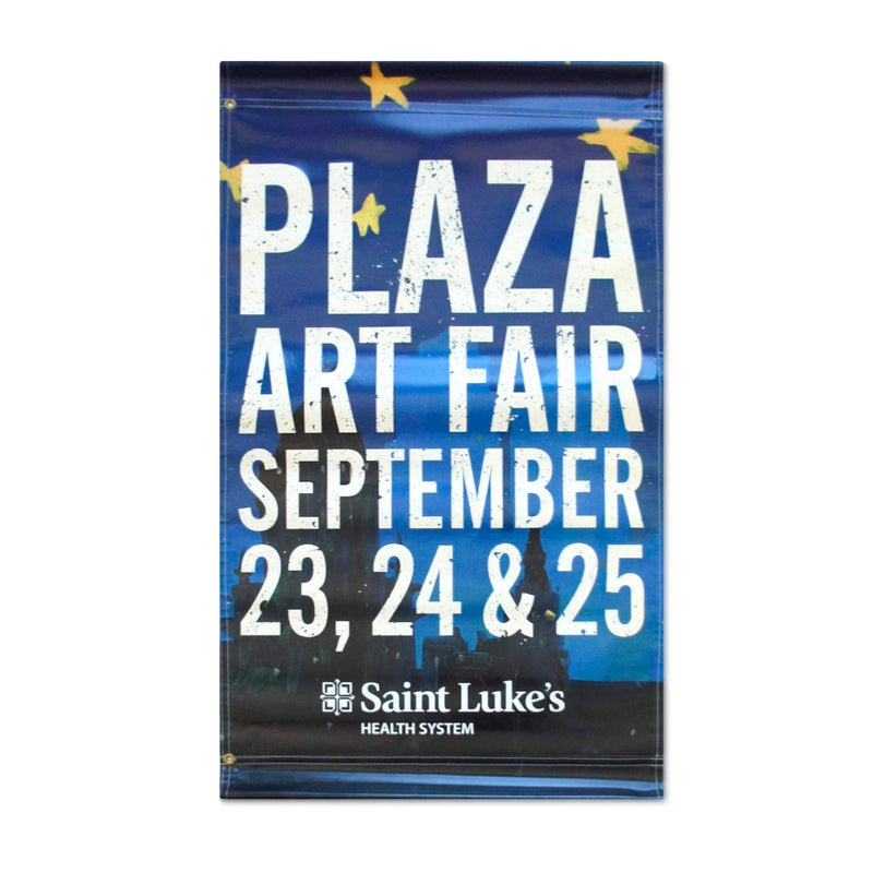 2016 Plaza Art Fair Banner - Seth Smith