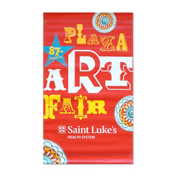 2018 Plaza Art Fair Banner - Amanda Outcalt - Red