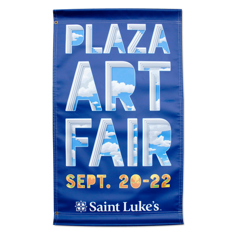 2019 Plaza Art Fair Banner - Steve and Bonnie Harmston