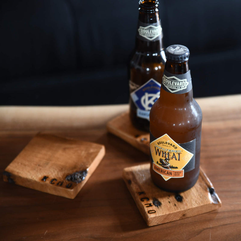 928 Woodworks KCMO Coaster Set