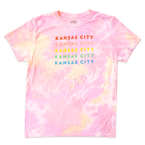 Ampersand Design Studio Kansas City Tie-Dye Tee