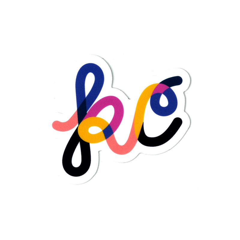 Ampersand Design Studio KC Script Sticker