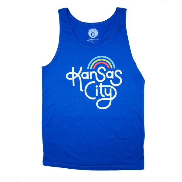 Ampersand Design Studio Kansas City Rainbow Tank - Royal Blue