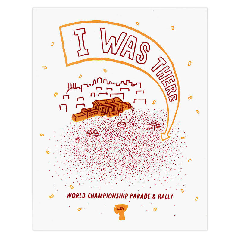 Anthony Schmiedeler I Was There World Championship LIV Print