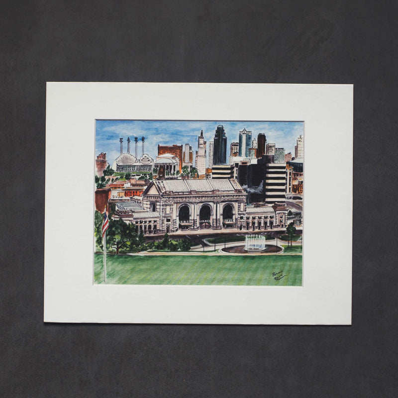 Art From Architecture Union Station Print