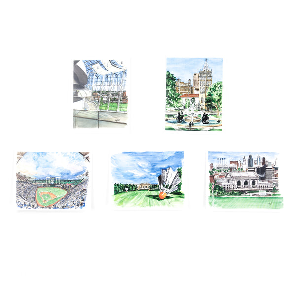 Art from Architecture Card Set