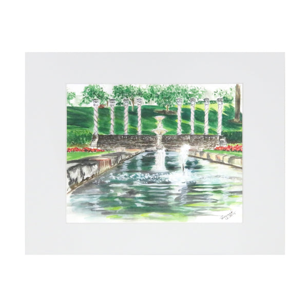 Art From Architecture Verona Columns Print