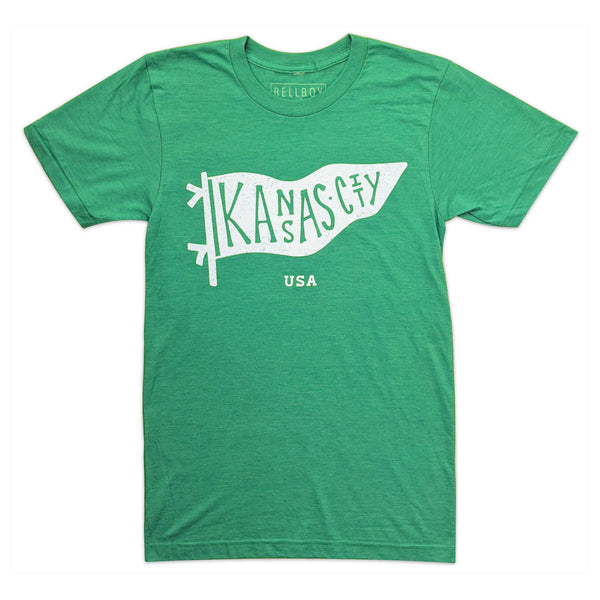 Bellboy Apparel Pennant Tee - Green