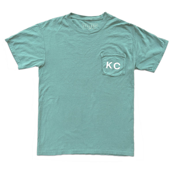 Bellboy Apparel KC Pocket Tee - Green