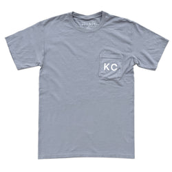 Bellboy Apparel KC Pocket Tee - Grey