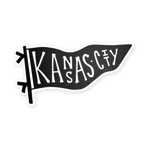 Bellboy Apparel Kansas City Pennant Sticker