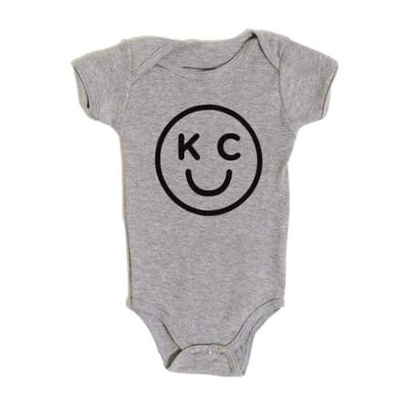 Bellboy Apparel KC Smiley Onesie