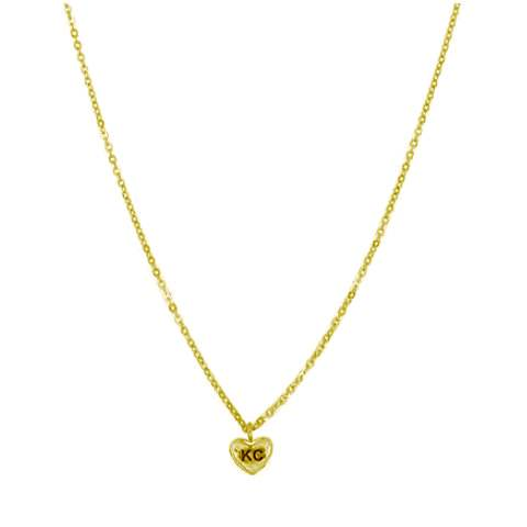 Bien-aimé KC Love Necklace: Gold