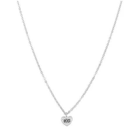Bien-aimé KC Love Necklace: Silver