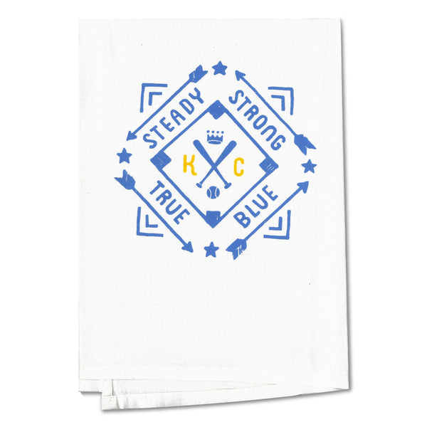 Black Bottle Art Co. KC Diamond Tea Towel
