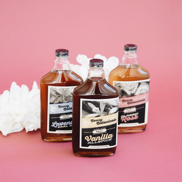 Boozy Botanicals Lavender Earl Grey Simple Syrup