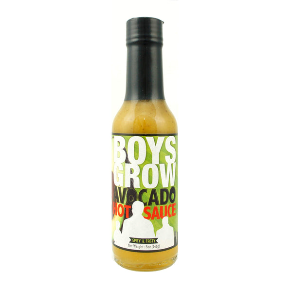 BoysGrow Avocado Hot Sauce