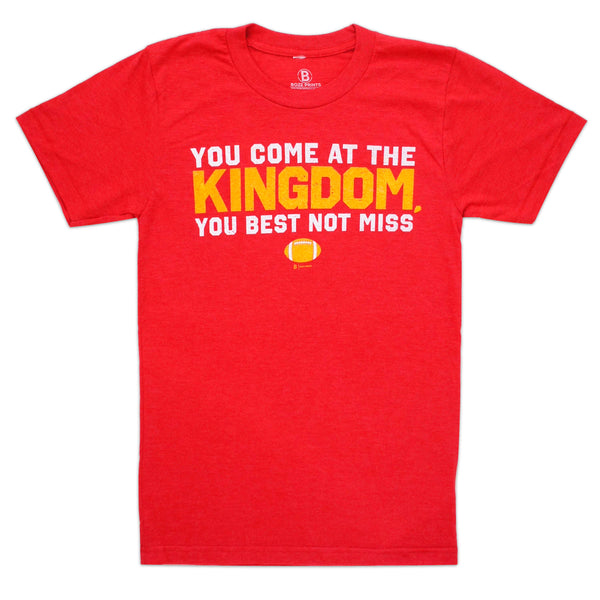 Bozz Prints Come at the Kingdom Tee