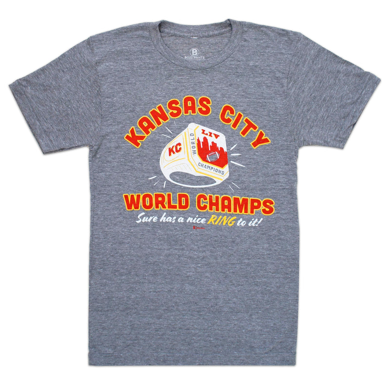 Bozz Prints World Champs Sure Has a Nice Ring to It Tee