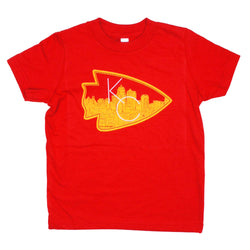 Bozz Prints Arrowhead City Kids Tee