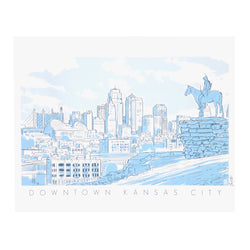 Bozz Prints Downtown Kansas City Print