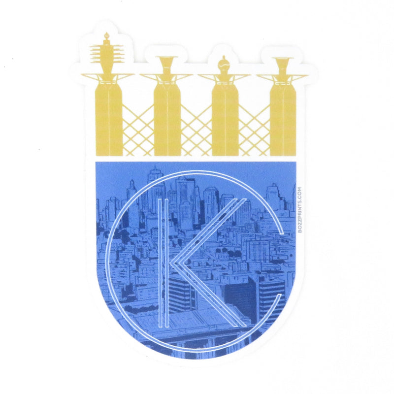 Bozz Prints KC Royalty Sticker