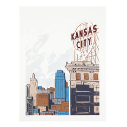 Bozz Prints Kansas City Crossroads Print