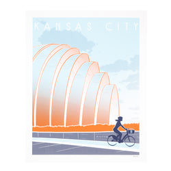 Bozz Prints Kansas City Kauffman Center Print