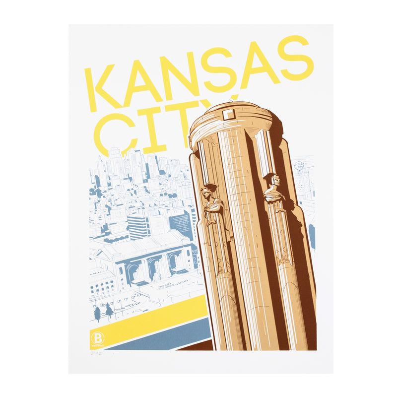 Bozz Prints Kansas City Liberty Memorial Print