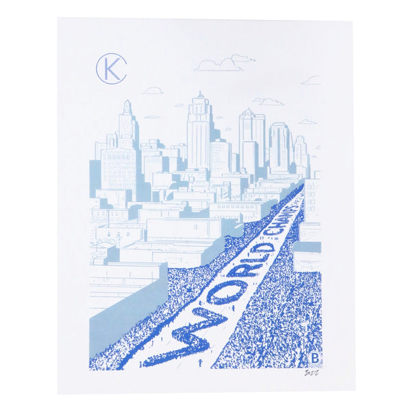 Bozz Prints World Champs Parade Print