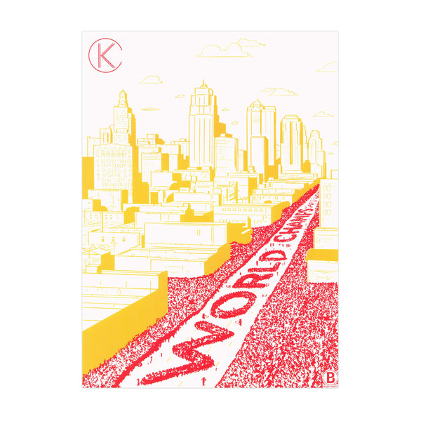 Bozz Prints World Champs Parade 2020 Postcard