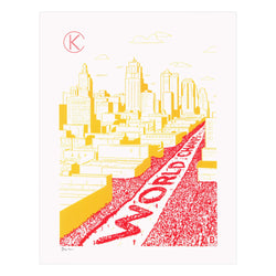 Bozz Prints World Champs Parade 2020 Print