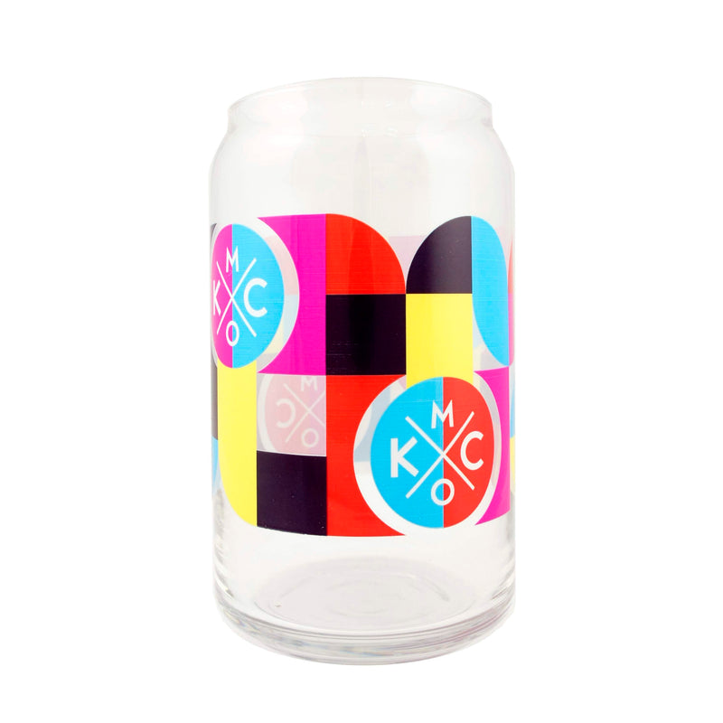 The Bunker Mod KCMO Beer Can Glass
