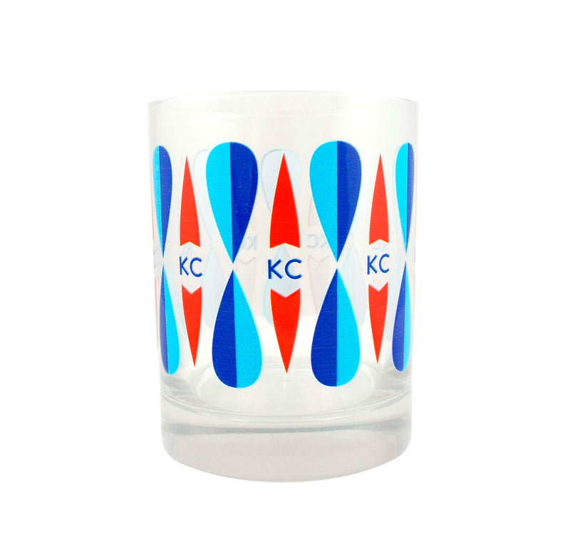 The Bunker Retro KC Rocks Glass