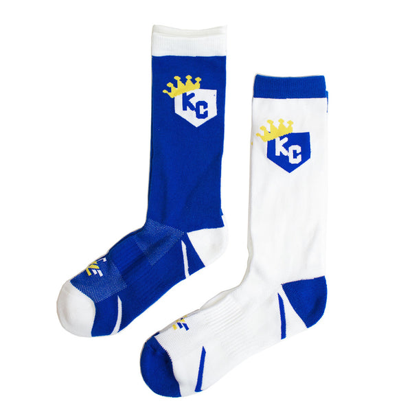 School of Sock KC Home Plate Socks