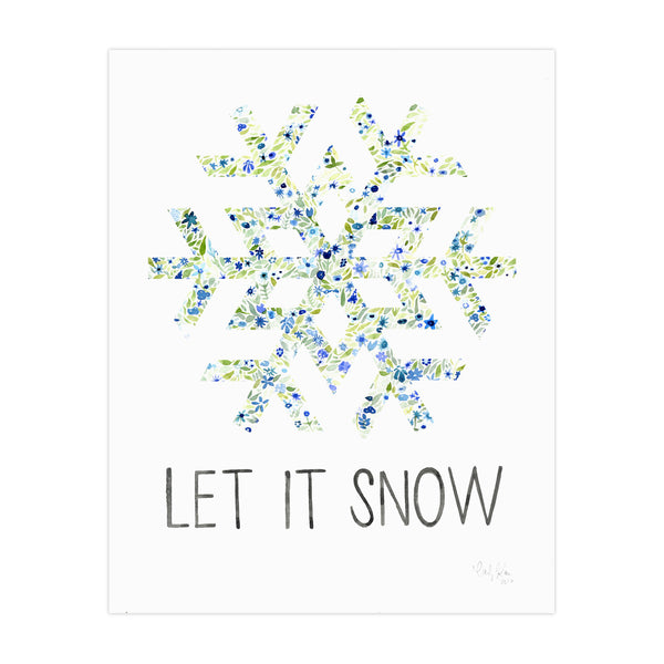 Carly Rae Studio Let It Snow Print
