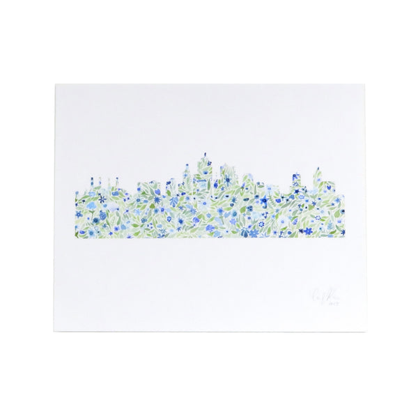 Carly Rae Studio Kansas City Skyline Print