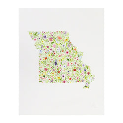 Carly Rae Studio Missouri Print