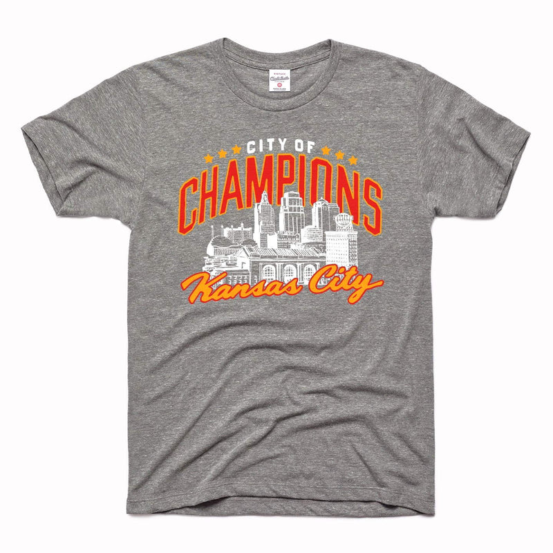 Charlie Hustle City of Champions Tee