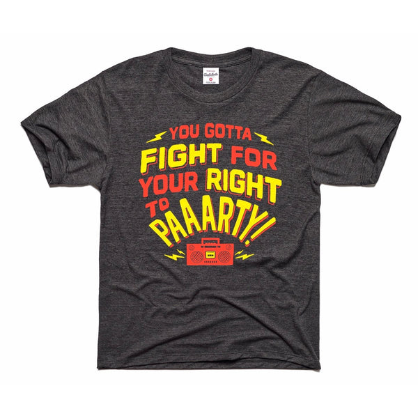 Charlie Hustle Fight for Your Right Kids Tee