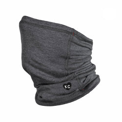 Charlie Hustle KC Heart Neck Gaiter - Charcoal