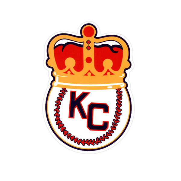 Charlie Hustle KC Monarchs Crown Sticker