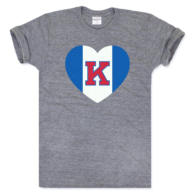 Charlie Hustle Kansas Heart Tee